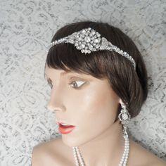 Hochzeitssuite Stirnband Braut Haarschmuck TRUE von ArlenesRubies