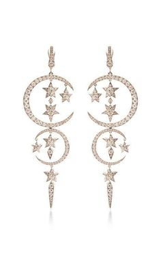 White Diamond Caspian Sea Earrings by Stephen Webster for Preorder on Moda Operandi