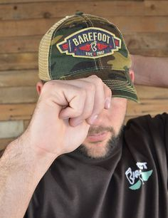 Check out our new barefoot logo winged caps! You will be turnin' heads wherever you go in this new fan favorite!