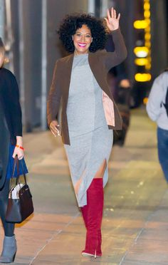 Tracee Ellis Ross in NYC Tracee Ellis Ross, Love Her Style, Style Me, Tracey Ellis, Love Fashion, Womens Fashion, Chic, Tall Women, Autumn Winter Fashion