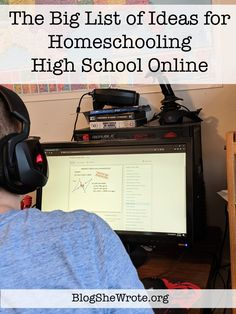 High School Curriculum, Online High School, How To Know, Homeschooling, Online Courses, Teen, Learning, Big, Ideas