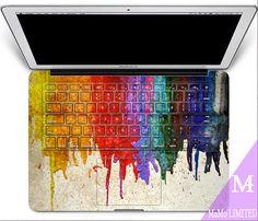 Macbook Decal Macbook Skin macbook Sticker Macbook Keyboard stickers Apple Keyboard Decal vinyl sticker for Macbook Pro/Air Macbook Cover