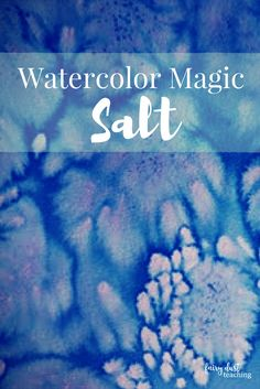 Ideas Winter Watercolor Art For Kids Salts Salt Watercolor, Watercolor Texture, Texture Painting, Watercolor Paintings, Watercolor Paper, Watercolors, Watercolor Artists, Abstract Paintings, Watercolor Art Kids