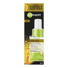 This stuff works! Garnier Skin Renew Clinical Dark Spot Corrector, 1.7 Fluid Ounces Garnier #byebyesunspots #turningbacktheclock