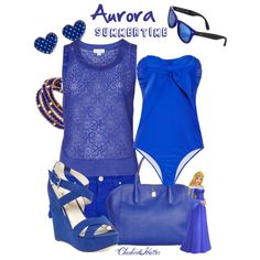 """""""Aurora Summertime"""" by cheshirehatter on Polyvore"""