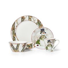 Sakura Snowman Debbie Mumm Dinner Plates Christmas | Pinterest | Snowman Christmas china and Xmas  sc 1 st  Pinterest & Sakura Snowman Debbie Mumm Dinner Plates Christmas | Pinterest ...