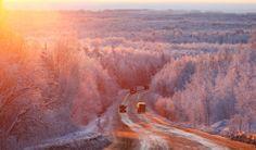 M54 Krasnoyarsk - Mongolia highway