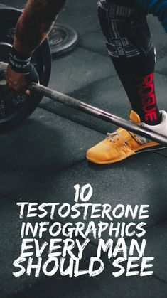 One in four men suffers from low testosterone. Are you one of them? Read these 10 testosterone infographics to learn more about testosterone, its effects, and how to naturally increase it.