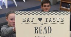 Four of our Language Arts classes participated in our first HCMS Library BOOK TASTING!     Here's how it went:    we se nt THIS  video for t...