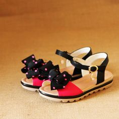 Fee shipping female child sandals/1691 bow children shoes/ 2013 summer princess shoes girls US $21.50