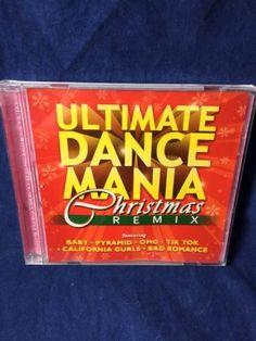 Ultimate Dance Mania Christmas Cd