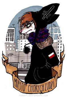 city of sick people by Fukari.deviantart.com on @deviantART