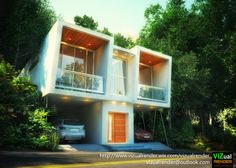 Projecto vivienda duplex, CasaT