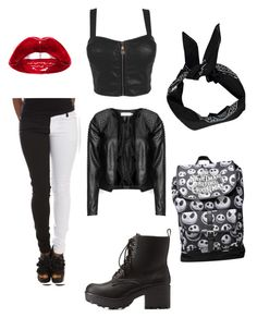 """""""Untitled #1"""" by alicecrue ❤ liked on Polyvore featuring Charlotte Russe, Zizzi and Boohoo"""