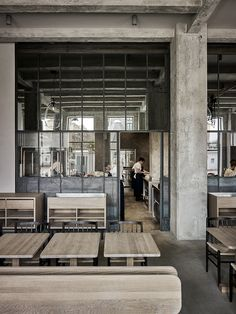 SPACE copenhagen converts warehouse into restaurant 108