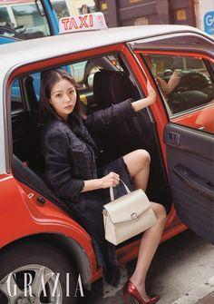 Walk in the Air Korean Actresses, Actors & Actresses, Korean Beauty, Asian Beauty, Chae Soobin, Grazia Magazine, Rich Girl, Celebs, Celebrities
