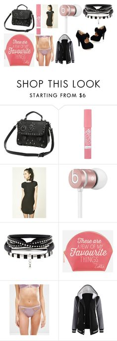 """""""shopping day outfit"""" by staleysadie on Polyvore featuring Rimmel, Forever 21, Beats by Dr. Dre, Zoella Beauty and ASOS"""