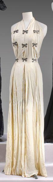 Jean Patou, haute couture, n°5 540, circa 1935-1938. Photo Cornette de Saint Cyr