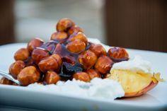 Barbecue recepten: gegrilde perzik