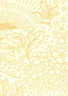 Toile in Yellow from Kathryn Ireland