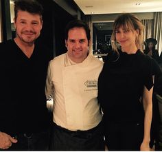 Con Marcelo Tinelli y Guillermina Valdez