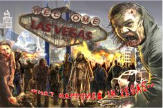 There's actually a Zombie Apocalypse store here in Vegas, your one-stop-shop!