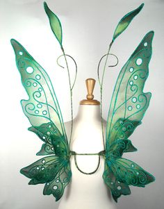 Recycle Reuse Renew Mother Earth Projects: How to make fairy wings