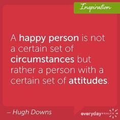 Do you have a healthy attitude?