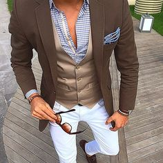 Great Outfit From Our Friend @Tufanir #ClassyGentsFashion