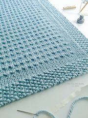 """The Third Street Blanket pattern is offered for FREE thru Monday, Sept. 12th at 9:00 pm US CST. No coupon code needed. Just click """"buy it now"""" above and the price will automatically change to """"free"""". Offer good on Ravelry only. Happy knitting!"""