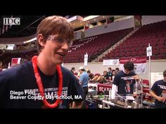 Robots em competição