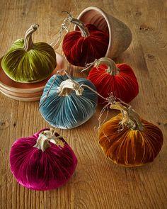 MacKenzie-Childs Autumn Harvest Beaded Flat Pumpkin