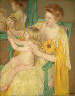 Mother and Child - Mary Cassatt 1905. National Gallery of Art