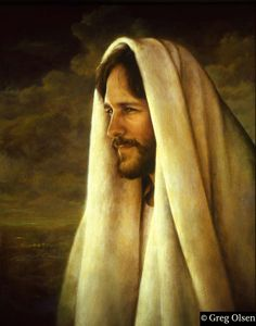 Jesus Christ by Greg Olsen. One of my favorite paintings of the Savior. Images Du Christ, Pictures Of Jesus Christ, Greg Olsen Art, Arte Lds, Image Jesus, Jesus E Maria, Lds Art, Jesus Christus, Jesus Face