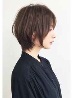 Pin on ヘアースタイル Short Hair Syles, Short Hair Cuts, Short Hairstyles For Women, Hairstyles With Bangs, Hidden Hair Color, Asian Short Hair, Japanese Short Hairstyle, Cabello Hair, Hair Arrange