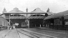 Pakistan, Lahore Railway Station -1914 (British India).