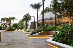Riverside Centre, Brisbane: Reviving a Seidler icon Landscape And Urbanism, Landscape Elements, Landscape Architecture Design, Landscape Walls, Architecture Plan, Landscape Lighting, Urban Landscape, Riverside Centre, Riverside Plaza