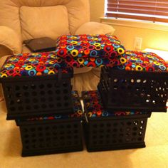 Crate seats