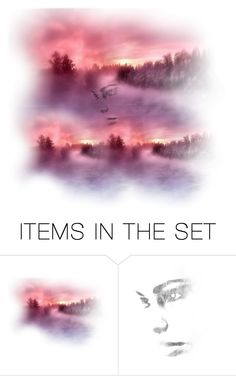 """Misty"" by chateaubeau ❤ liked on Polyvore featuring art"