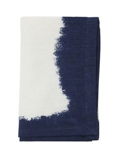 Styled Sealed Delivered - Navy Tie Dye Napkin - event style - homewares - table linen - home decor