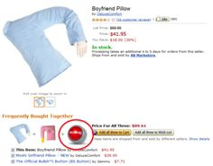 Boyfriend pillow anyone? He's good for snuggles?;)