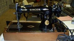 This is a sewing machine I got from an estate years ago, I have been storing it for years. I know nothing about sewing machines but I have done some research. It is in a bentwood case that comes with the key. | eBay!