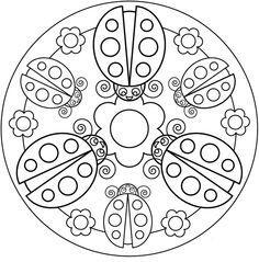 Ugur Bocegi Mandala Calismalari 6 Evimin Altin Topu Boyama Sayfalari Mandala Mandala Boyama Sayfalari