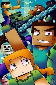Minecraft!! by CIC-Studios on DeviantArt