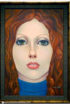 Margaret Keane 'big eye' art