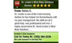 Dr. Linden is one of the most amazing doctors he has helped me tremendously with my pain...