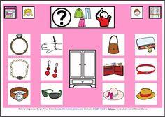 MATERIALES - Tableros de Comunicación de 12 casillas.    Tablero de comunicación de doce casillas sobre accesorios.    http://arasaac.org/materiales.php?id_material=224