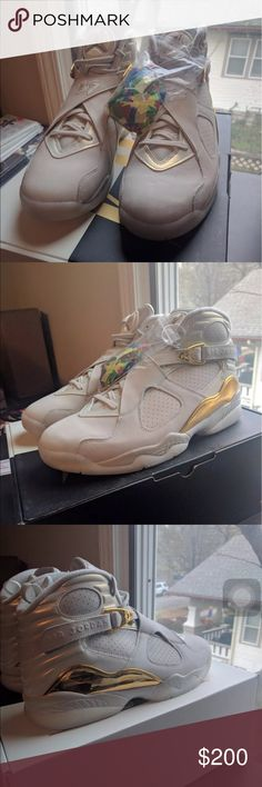 Air Jordan retro 8 I don't sell through Poshmark. I ship& accept payment through PayPal. I DONT SELL FAKES OR REPLICAS. I DONT DO TRADES. If serious interested contact me Jordan Shoes Sneakers