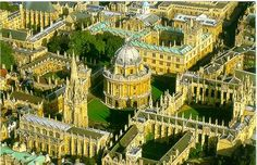 Campus of Oxford University. Beautiful And Big    #oxford #collegecampus