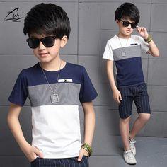$13.99 (Buy here: https://alitems.com/g/1e8d114494ebda23ff8b16525dc3e8/?i=5&ulp=https%3A%2F%2Fwww.aliexpress.com%2Fitem%2FFYH-2017-Kids-Boys-Summer-Suit-Baby-Boys-Clothing-Sets-Teenager-Boys-Short-sleeved-Set-Children%2F32805483916.html ) FYH 2017 Kids Boys Summer Suit Baby Boys Clothing Sets Teenager Boys Short-sleeved Set Children's Cotton T-shirt + Boys Shorts for just $13.99
